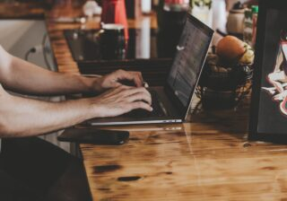 Skrivning på computer